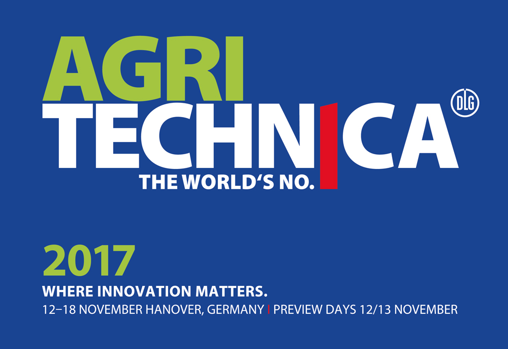 SAG TUBI at Agritechnica Fair 2017