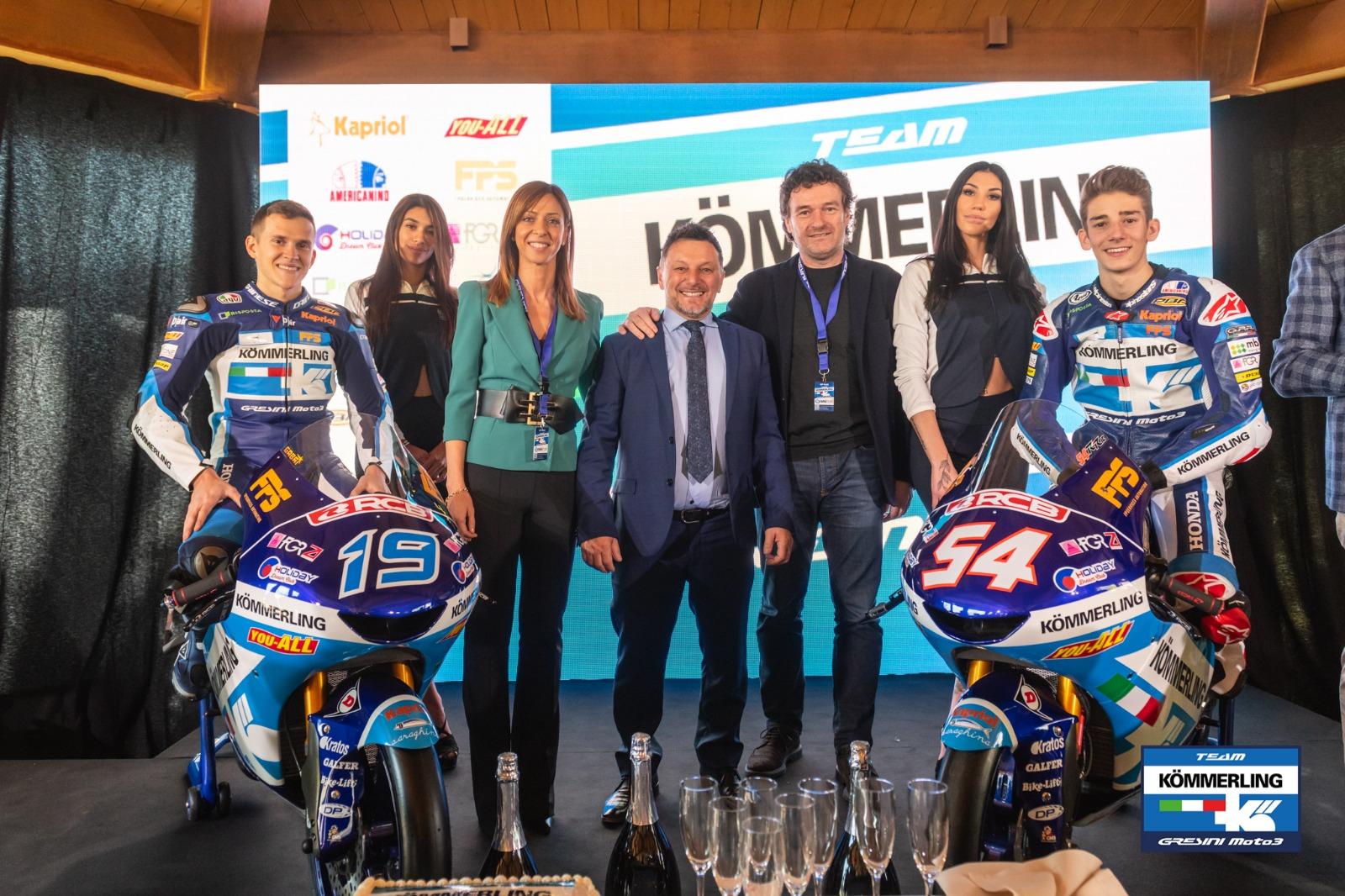 SVELATO IL PROGETTO TEAM KÖMMERLING GRESINI MOTO3 – Gresini Racing